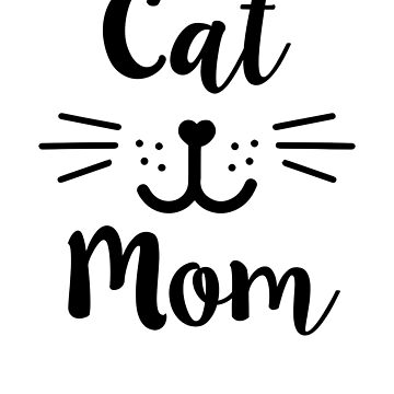 Cat Mom Shirt womens cute cat owner t-shirt by worksaheart