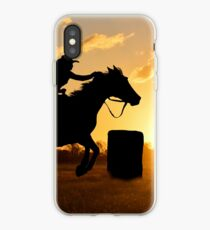 BARREL RACING----IT'S A WAY OF LIFE iPhone-Hülle & Cover