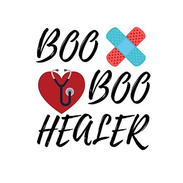 Boo Boo Healer / Red by MeCocky