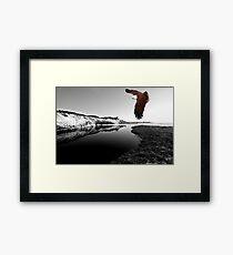 """Kite Flying at Mara Creek"" Framed Print"