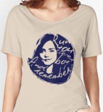 Run You Clever Boy Women's Relaxed Fit T-Shirt
