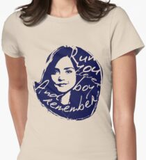 Run You Clever Boy Women's Fitted T-Shirt