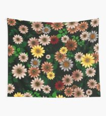 Multicolored natural flowers 19 Wall Tapestry