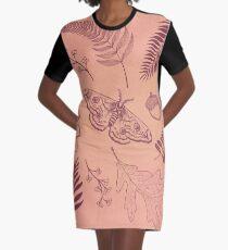 Autumn  Graphic T-Shirt Dress
