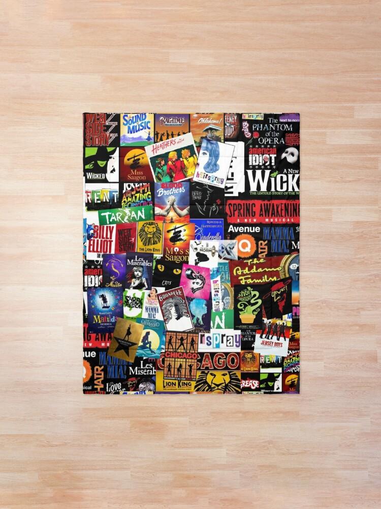 Alternate view of Musicals Collage II Comforter