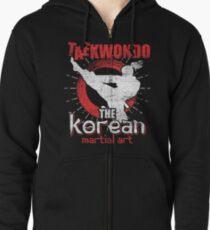 Taekwondo Asia Zipped Hoodie