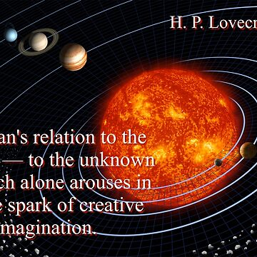 It Is Man's Relation - H P Lovecraft by CrankyOldDude
