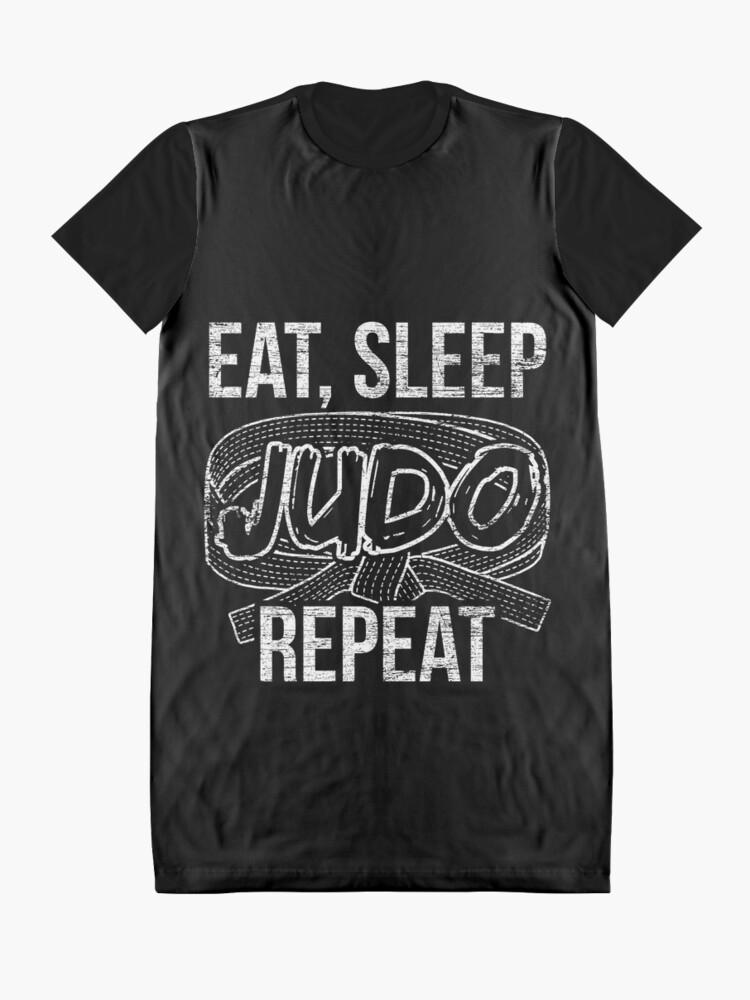 Alternate view of Judo hobby Graphic T-Shirt Dress