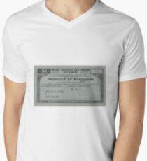 Producer of Marihuana Men's V-Neck T-Shirt