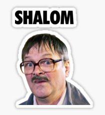 Shalom Jackie - Friday Night Dinner  Sticker