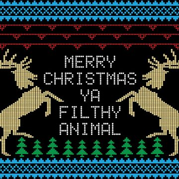 Christmas Filthy Animal by NovaPaint