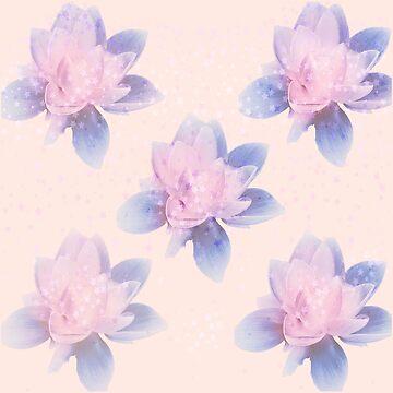 lotus flowers by susana-art