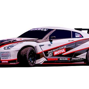 Nissan GTR R35 by Neppster123
