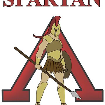 Spartan Warrior of Sparta Lambda Ancient Greece by WarlordApparel