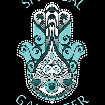 Hamsa symbol zen spiritual gangster by WWB2017