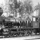 Steam Engine Locomotive 594 Finland by hurmerinta