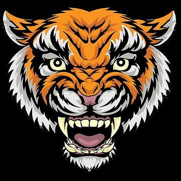 MANDY - Nicolas Cage Tiger Baseball Shirt by powerdinoninja