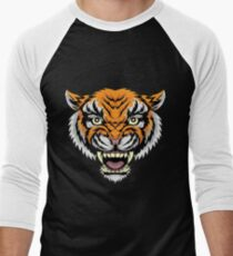 MANDY - Nicolas Cage Tiger Baseball Shirt Men's Baseball ¾ T-Shirt