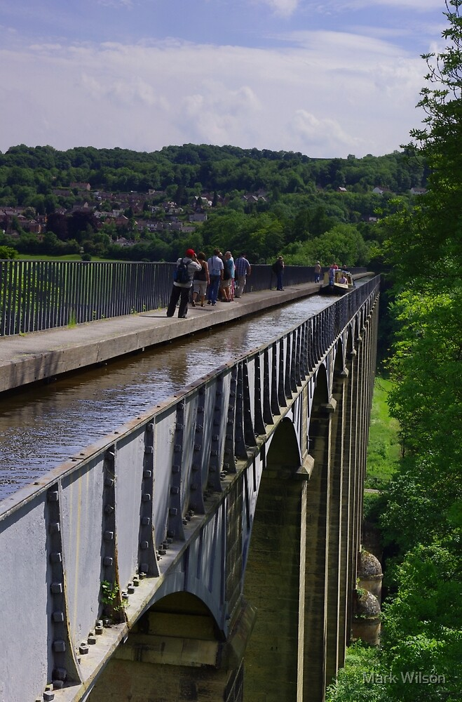 Pontcysyllte Aqueduct, Llangollen by Mark Wilson