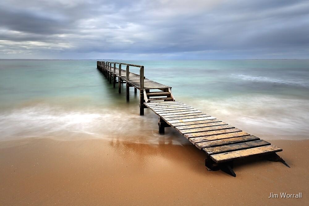 Shelley Beach - Portsea by Jim Worrall
