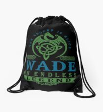 Legend T-shirt - Legend Shirt - Legend Tee - WADE An Endless Legend Drawstring Bag