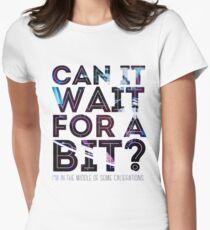Garrus Calibrations Women's Fitted T-Shirt