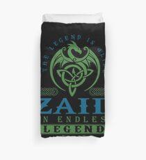 Legend T-shirt - Legend Shirt - Legend Tee - ZAID An Endless Legend Duvet Cover