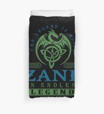 Legend T-shirt - Legend Shirt - Legend Tee - ZANE An Endless Legend Duvet Cover
