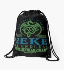 Legend T-shirt - Legend Shirt - Legend Tee - ZEKE An Endless Legend Drawstring Bag