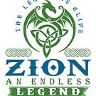 Legend T-shirt - Legend Shirt - Legend Tee - ZION An Endless Legend by wantneedlove