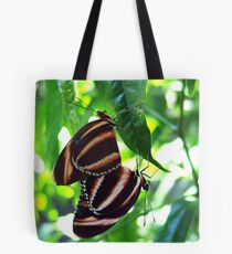 Orange Banded Butterflies - Cockrell Butterfly House Tote Bag