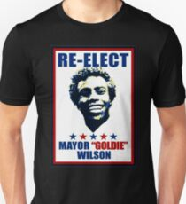 re-elect mayor goldie wilson funny Unisex T-Shirt