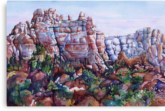 Snoopy Rock - Sedona Arizona by Joy Skinner