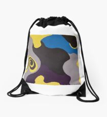 Swirl II Drawstring Bag