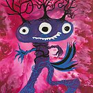 3 eyes Monster Dancing Tree by see foon  by See Foon
