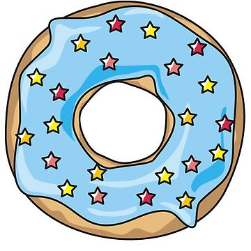 Blue Donut by NeonArcade87