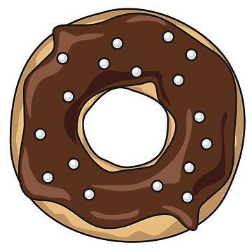 Chocolate Donut by NeonArcade87