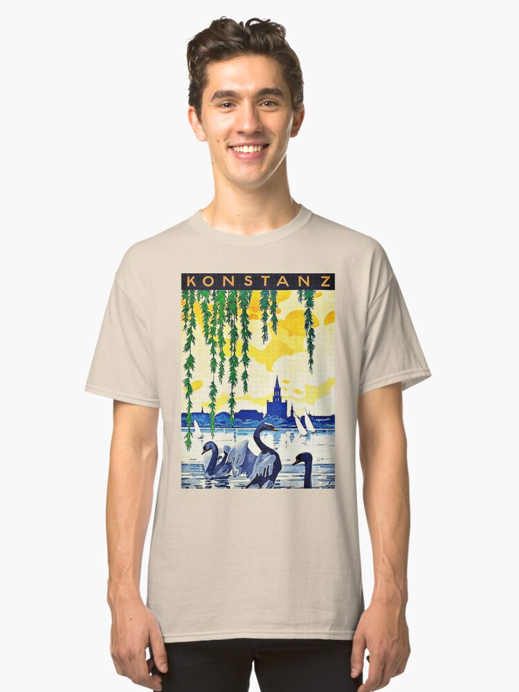 Alternate view of Konstanz am Bodensee Travel Advertisement  Classic T-Shirt