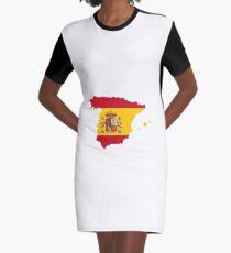 Espana Graphic T-Shirt Dress