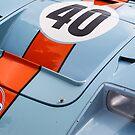 Gulf/Mirage GT 40 by dlhedberg