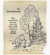 Winnie the Pooh - Manchmal die Kleinsten Poster