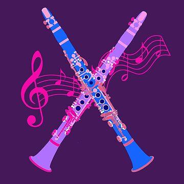 Clarinet Love by miniverdesigns