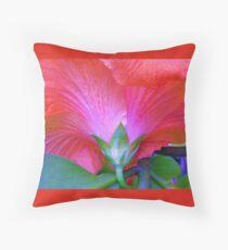 Pink Hibiscus , Throw Pillow, Cushion  Throw Pillow