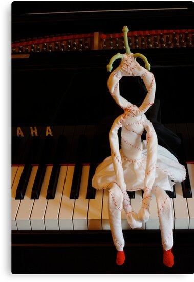 AHA! Dolly likes piano by Soxy Fleming