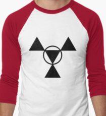 Guilmon Casual Men's Baseball ¾ T-Shirt