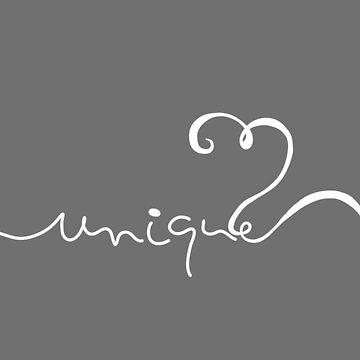 Minimalist Unique Typography Curvy Style by oursunnycdays