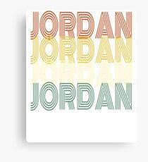 JORDAN T-SHIRT  Canvas Print