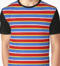 Ernie Streifen Grafik T-Shirt