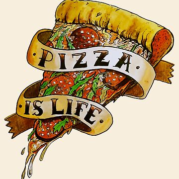 Pizza is Life XXL by MUMtees