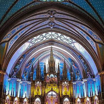 Notre Dame Montreal by baneling